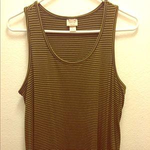 Target Mossimo . Stripe Tee Shirt Dress